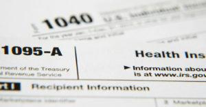 1095 A tax form